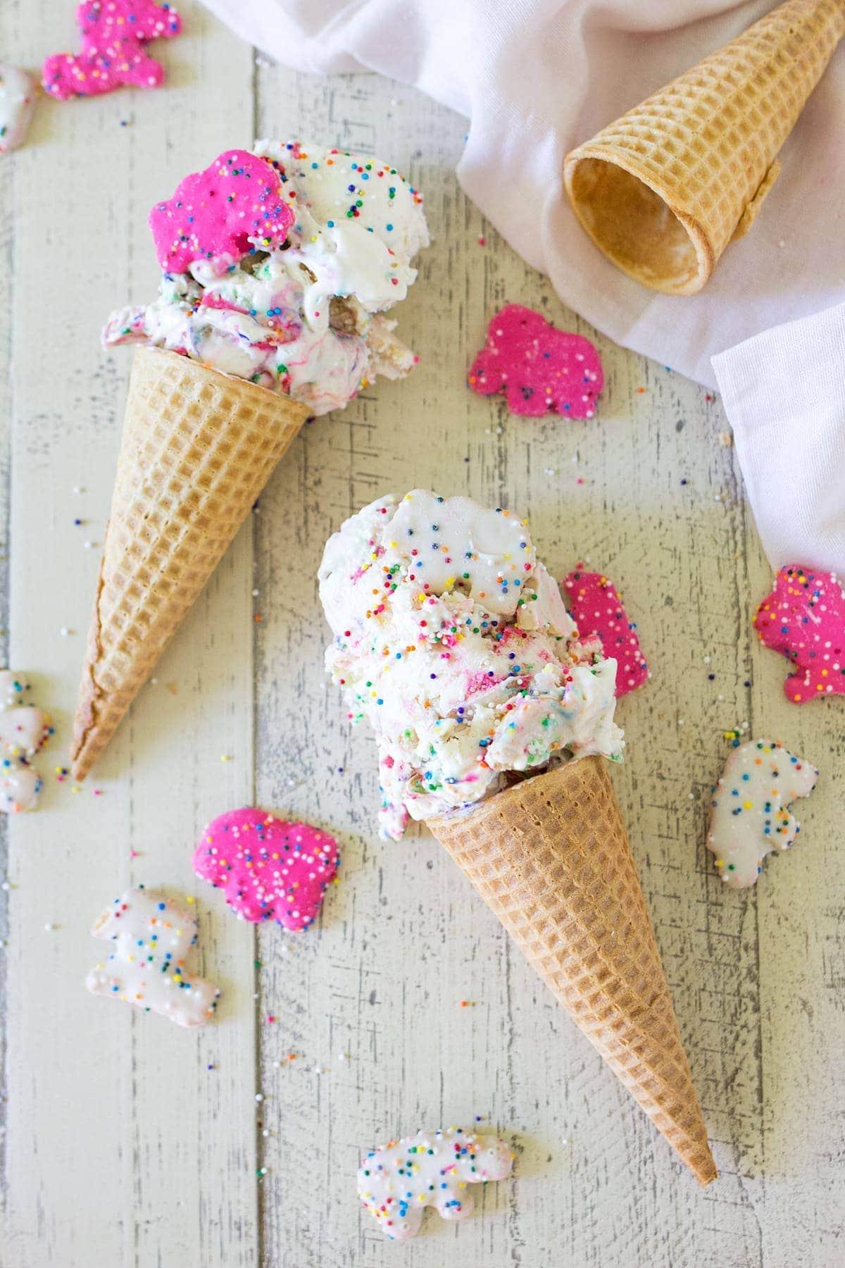 Circus Animal Cookie Ice Cream