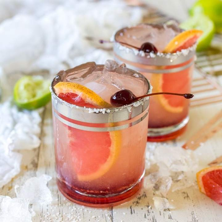 Elderflower Grapefruit Margarita