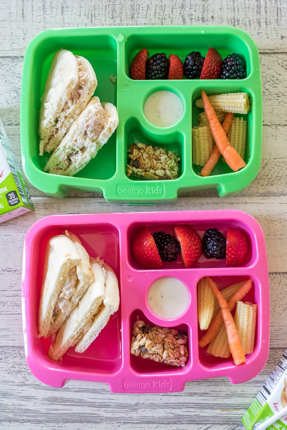 5 Bento Box School Lunches