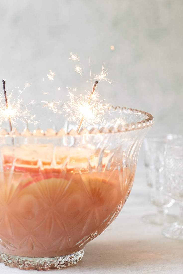 Spiced Apple Sparkling Punch