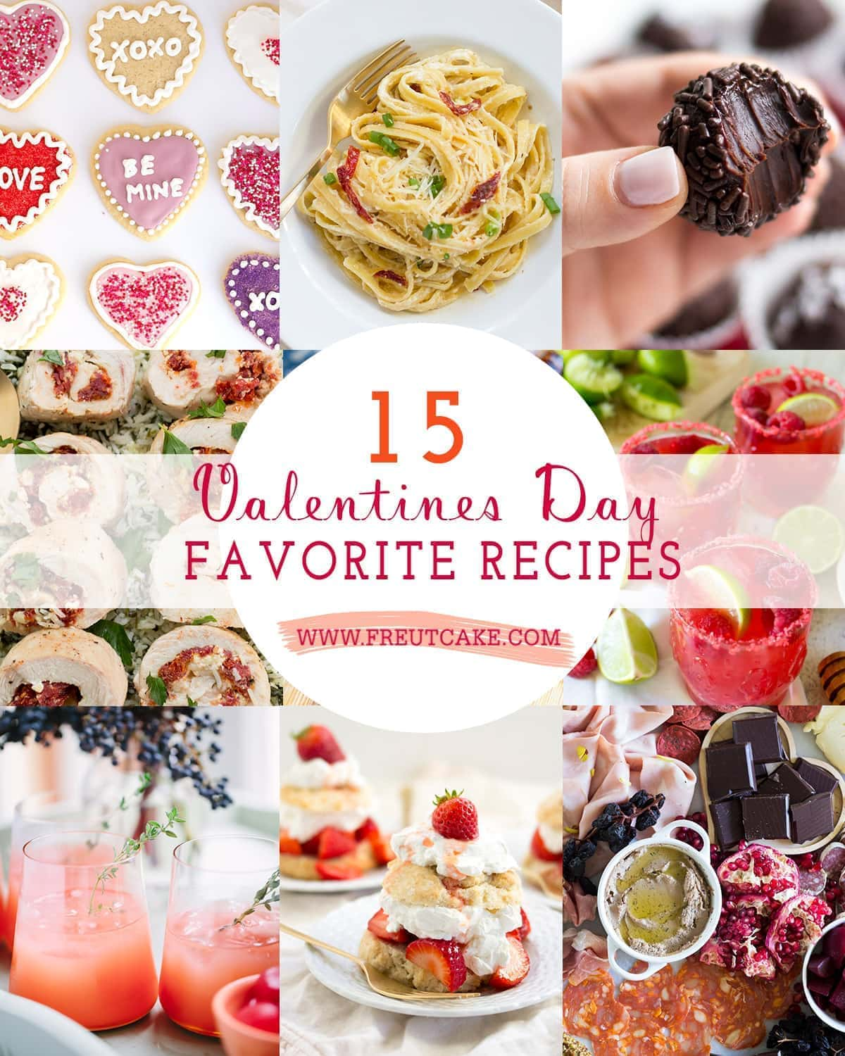 15 Valentines Day Recipes