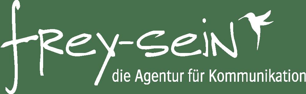 frey-sein - Logo Weiss