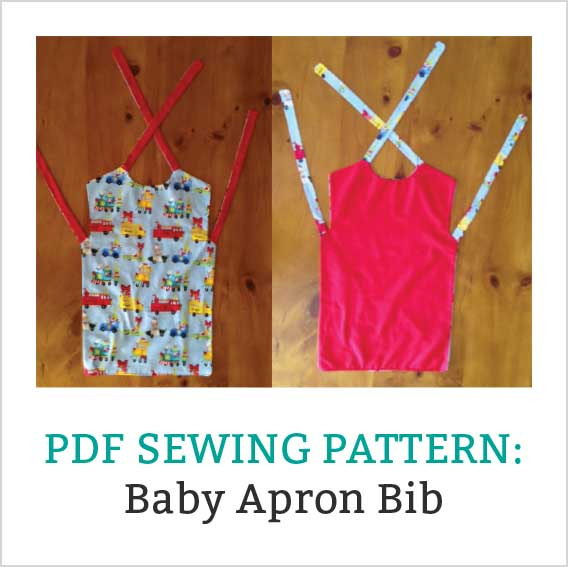 New Freebie – Apron Bib Pattern