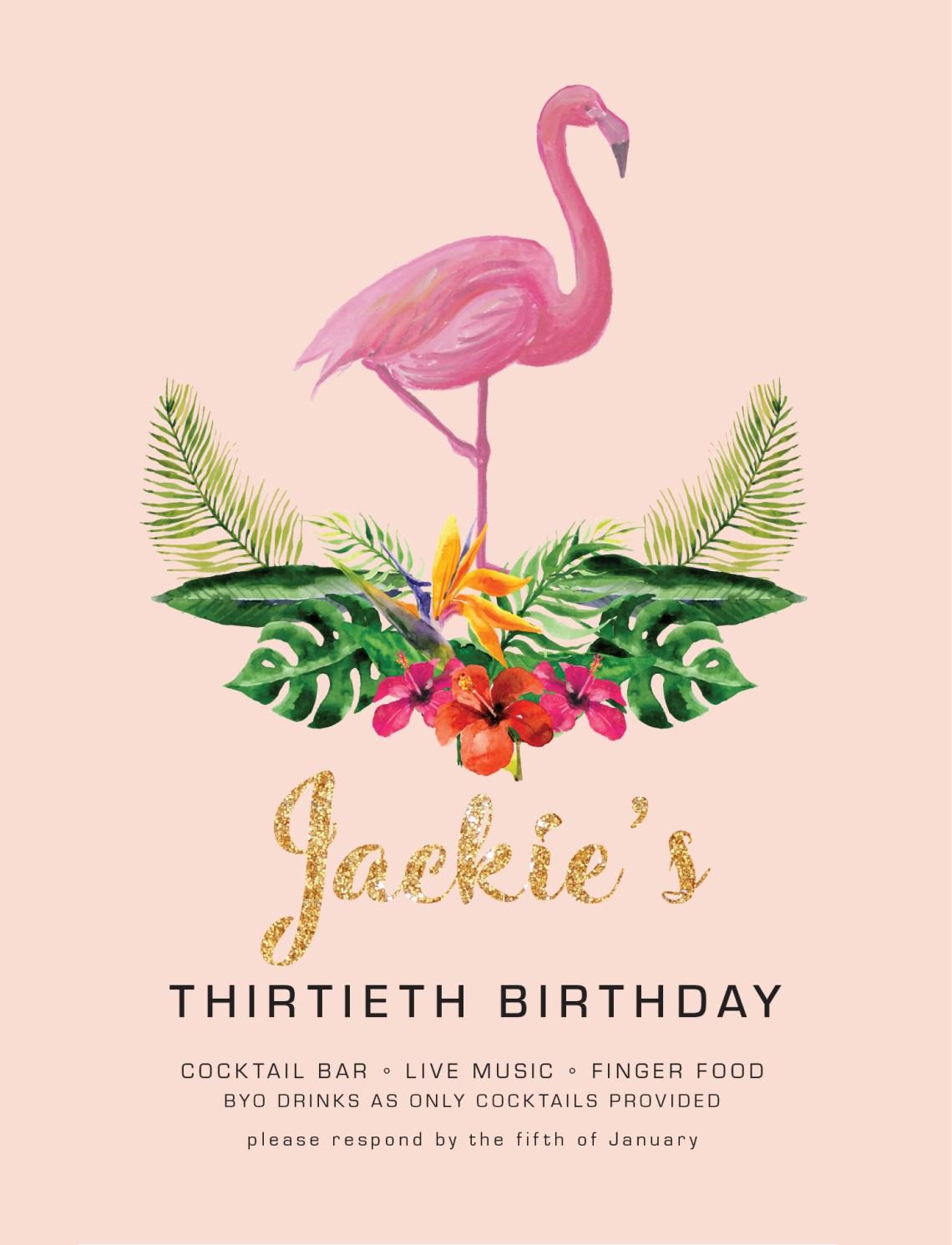 Thirtieth-Invite