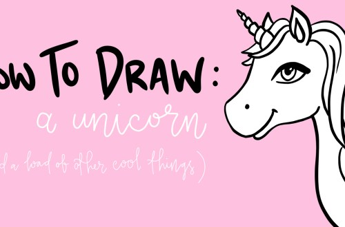 how to draw a unicorn