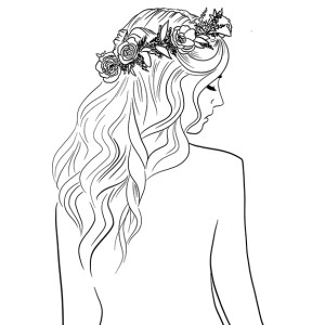 flowercrowns and hair