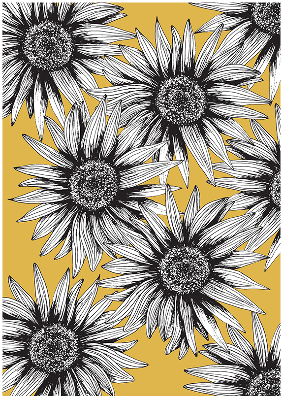 Sunflowers Everywhere (Various Colours)