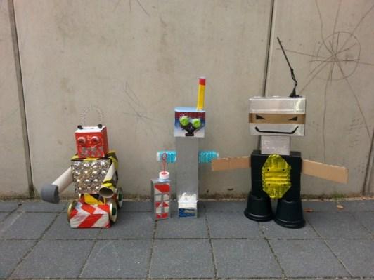Müllroboter Bande