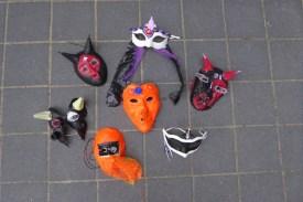 02_Halloween Masken