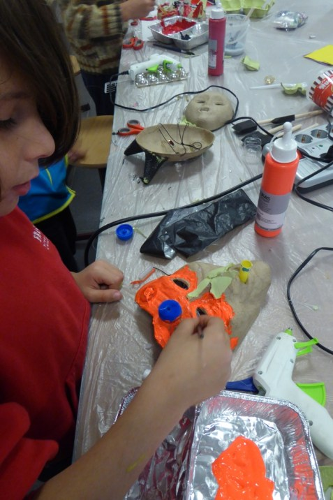 14_Bastelwerkstatt Halloween Masken