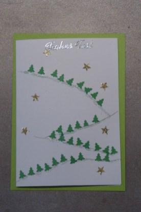 08_DIY Weihnachtskarten von Kindern 6-9J