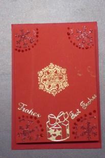 11_DIY Weihnachtskarten von Kindern 6-9J