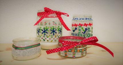 glas_windlichter_teelicht_weihnachten_recycling_diy_basteln_kinder_grundschule-11