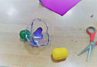 Upcycling_DIY_PET Flaschen_Geschicklichkeitsspiel_Kinder_FRICKELclub (4)