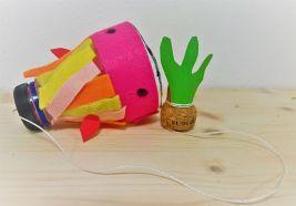Upcycling_DIY_PET Flaschen_Geschicklichkeitsspiel_Kinder_FRICKELclub (7)