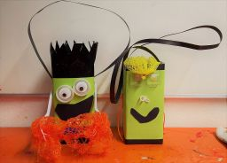 Gruneliusschule_Frankfurt_externe AG_FRICKELclub_Halloween_Recycling_Basteln (11)