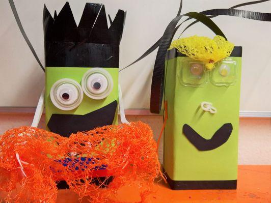 Gruneliusschule_Frankfurt_externe AG_FRICKELclub_Halloween_Recycling_Basteln (12)