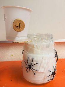 Gruneliusschule_Frankfurt_externe AG_FRICKELclub_Halloween_Recycling_Basteln (27)