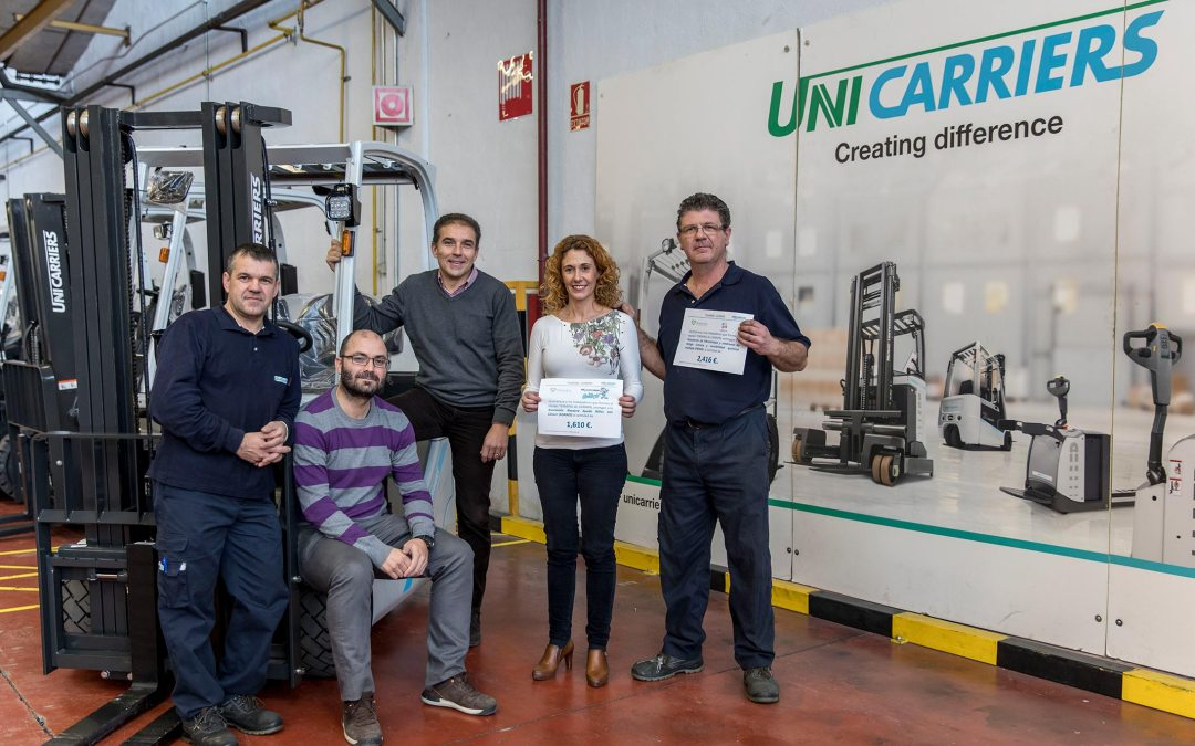 "Proyecto Social ""Teaming"" de Unicarriers"