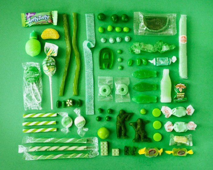 emily blincoe photo of green candy