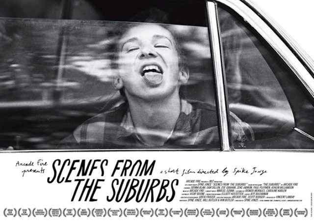 movie poster scenes from the suburbs