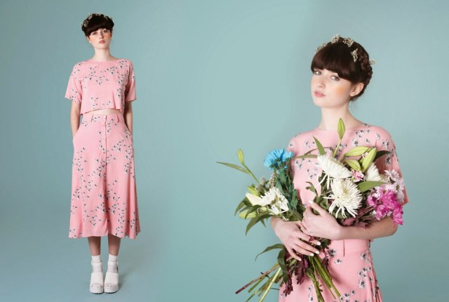 The White Pepper Pink floral print set