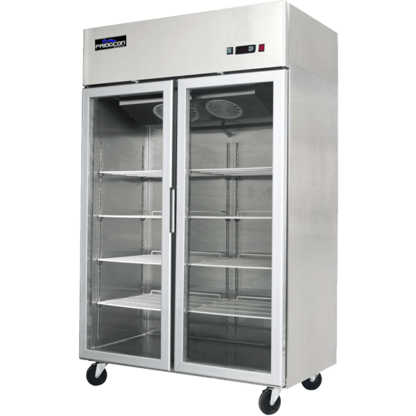 DOUBLE GLASS DOOR REFRIGERATOR
