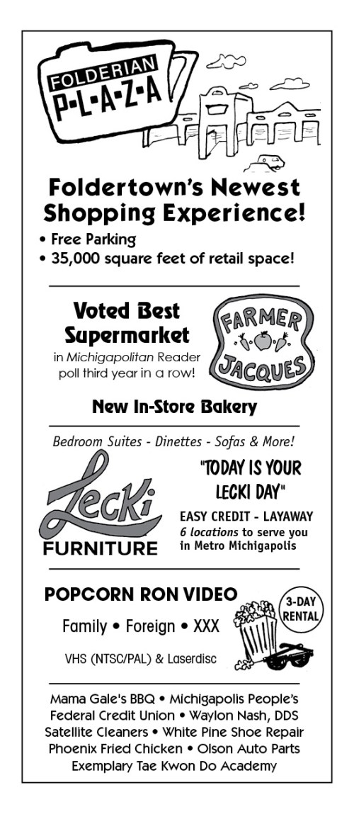 Foldertown Shopper's Guide, page 6