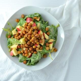 Kale Apple Chickpea Salad Fridge to Fork