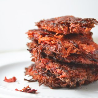 Root Vegetable Latkes (Whole30 + Paleo)