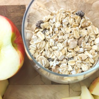 Apple Overnight Oats - Fridge to Fork