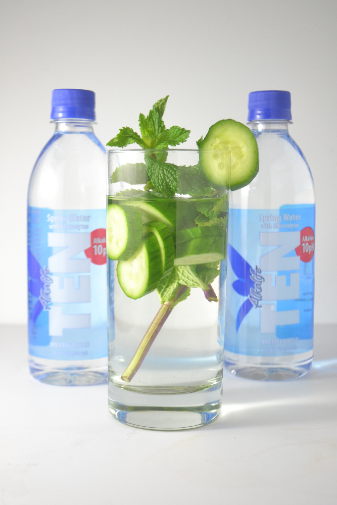 Fridge to Fork - Infused Water Three Ways