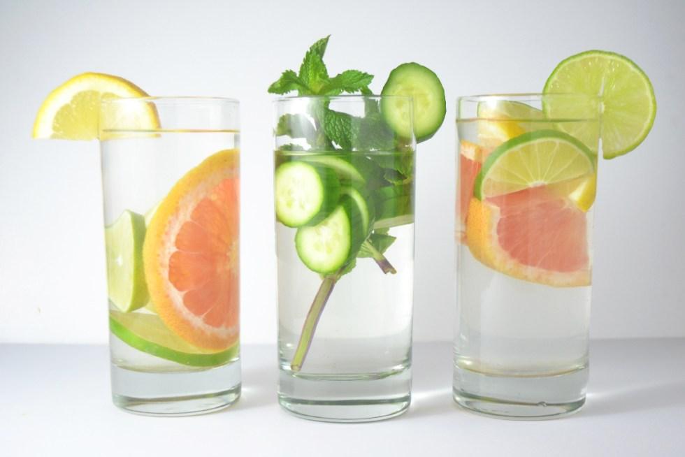 Infused Water Three Ways