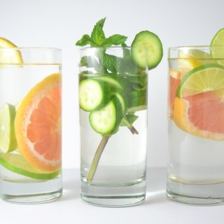 Fridge to Fork - Infused Water Three Ways