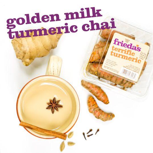 Golden Milk Turmeric Chai | Frieda's Inc. – The Specialty ...
