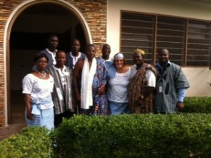 The Executive Board and the Chiefs who attended our General Assembly.