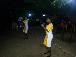 Vocal gospel before the Preaching of the Word