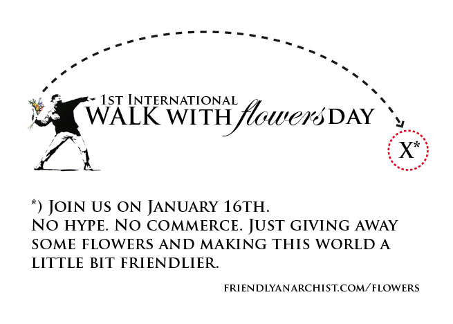 Walk With Flowers Day 2011