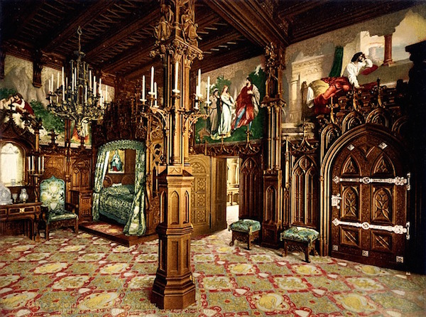 neuschwanstein bedroom