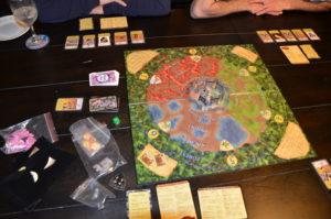 Castle Panic plus expansions