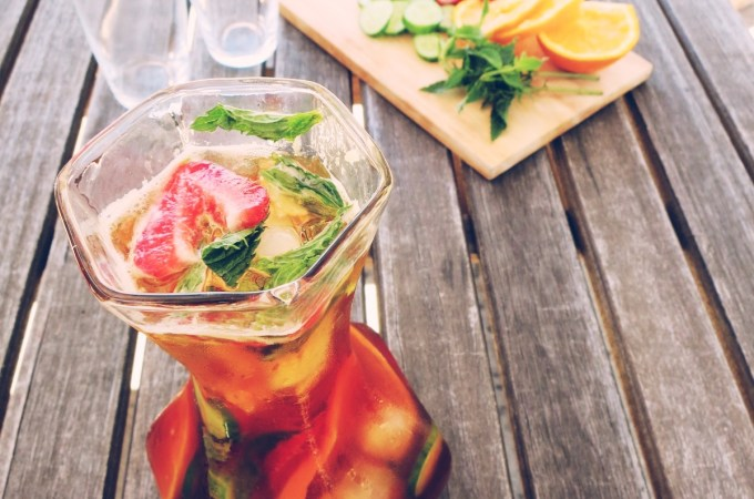 low fodmap pimms cocktail