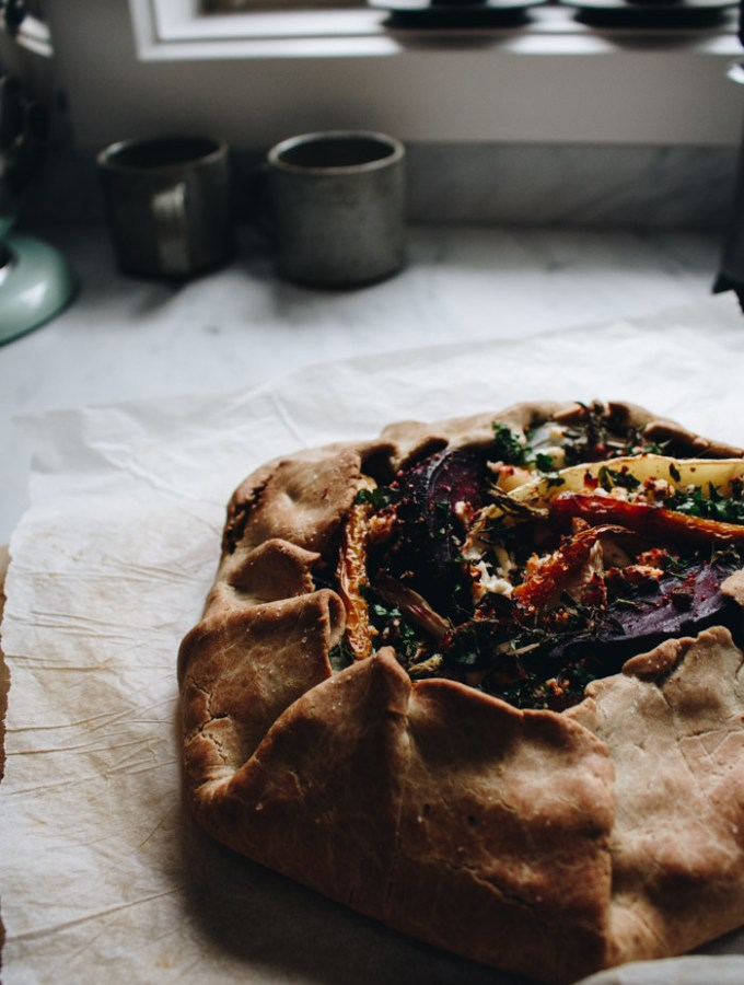 Winter Vegetable Galette