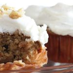 Carrot Cake Amish Friendship Bread Cupcakes