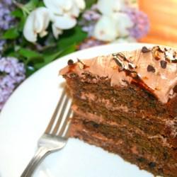 Amish Friendship Bread Hazelnut Cappuccino Cake ♥ friendshipbreadkitchen.com