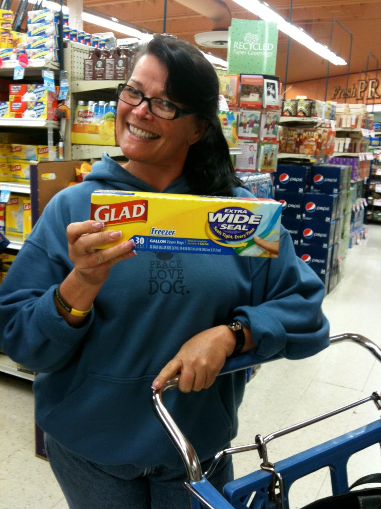 Lori Getting Ready to Make and Share Amish Friendship Bread Starter ♥ friendshipbreadkitchen.com