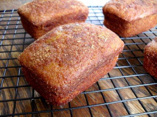 Caramel Banana Amish Friendship Bread by Veronica Miller | friendshipbreadkitchen.com