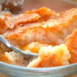 Amish Friendship Bread Peach Cobbler