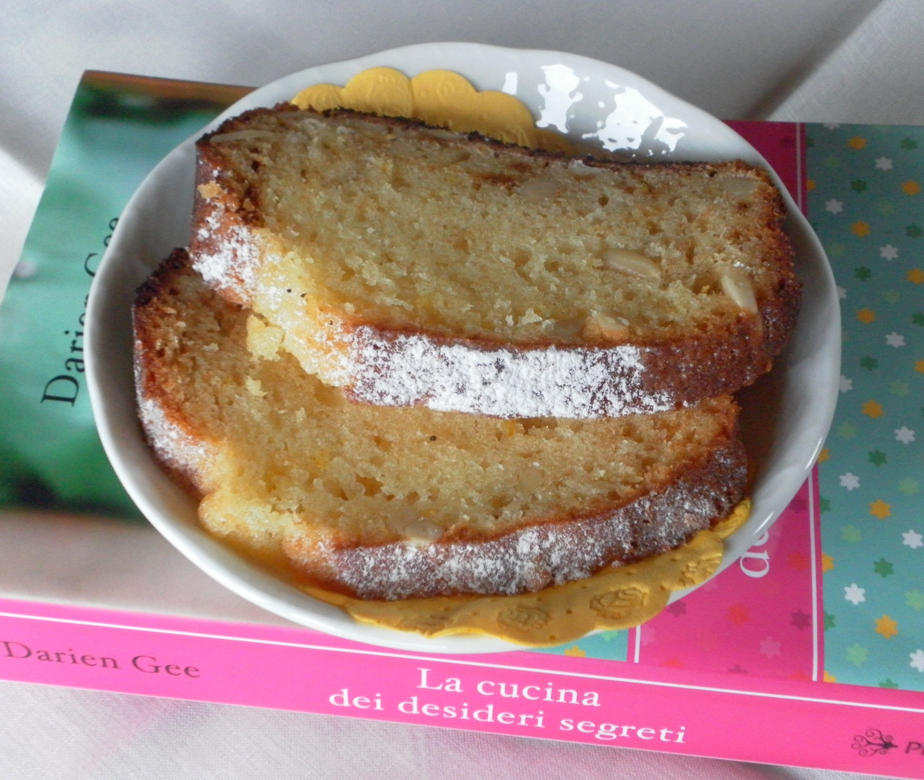 Lemon Pine Nut Amish Friendship Bread by Lucia Ciattaglia | friendshipbreadkitchen.com