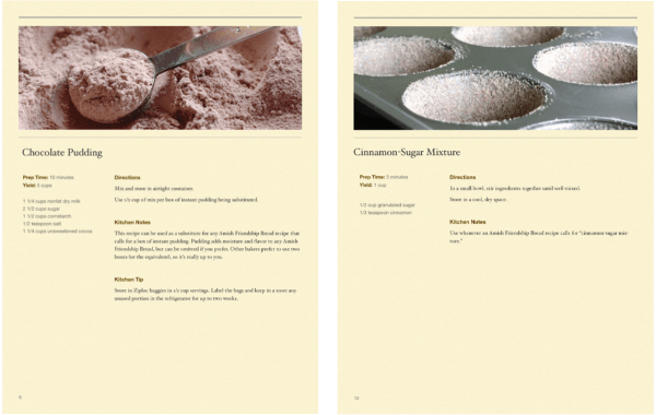 Quick and Easy Amish Friendship Bread Recipes Sample 2