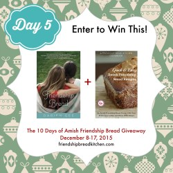 Day 5 of the 10 Days of Amish Friendship Bread Giveaway – Mix or Mash